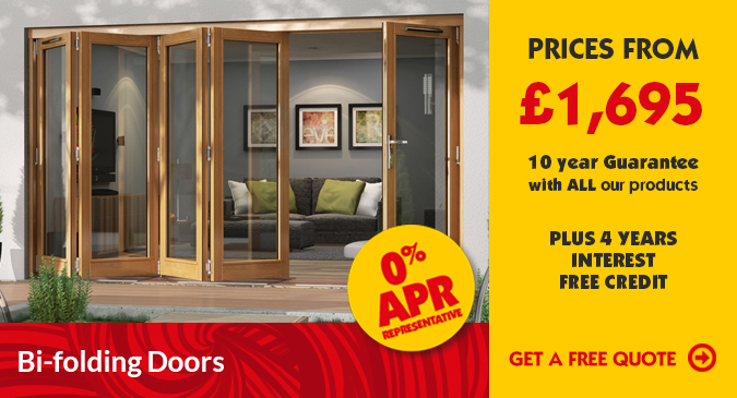 Double Glazed Bi Fold Doors | Double Glazing | Triple Glazed Windows ...