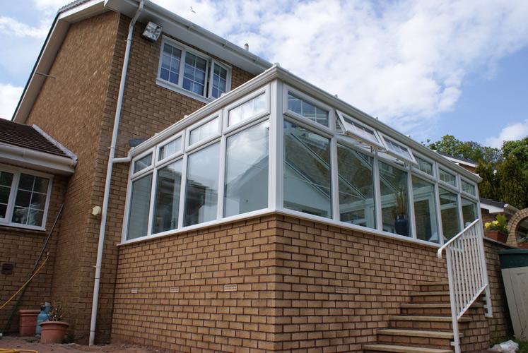 External Corner View - Edwardian Conservatory