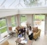 Inside Triple Glazed Orangery