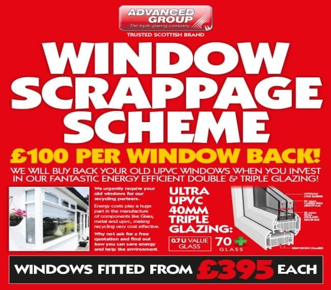 Window Scrappage Offer