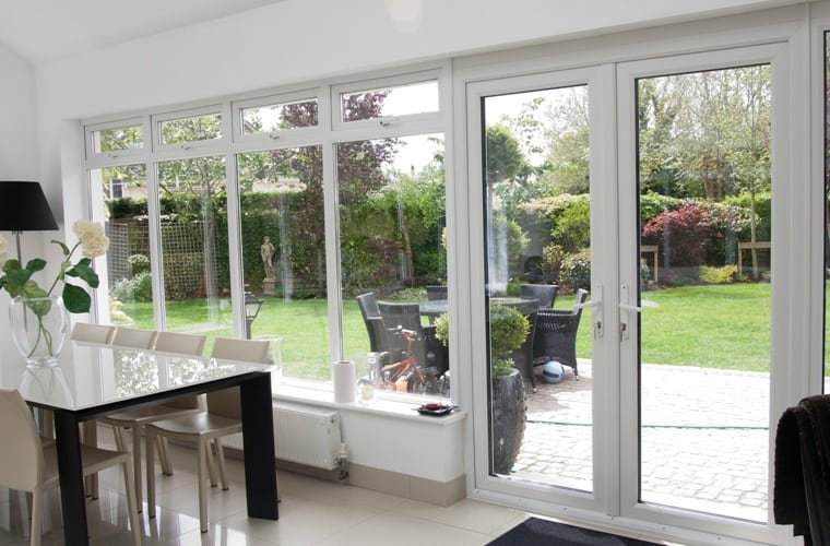 Double Glazed French Doors Enjoy The Oncoming Winter Double