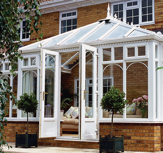 Contemporary Edwardian Triple Glazed uPVC Conservatory