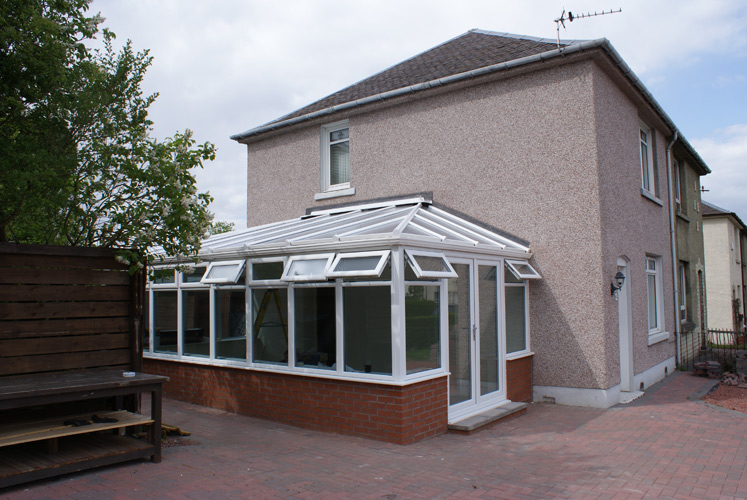 Edwardian Styled Contemporary Conservatory