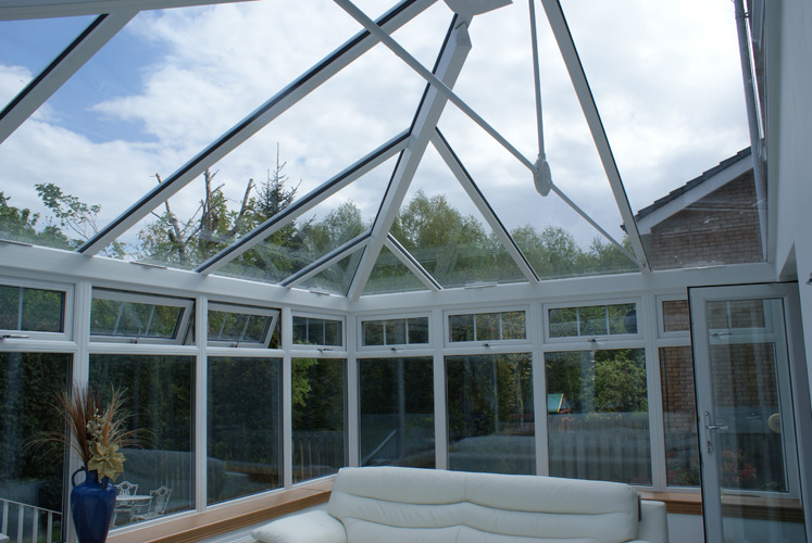 Contemporary Edwardian Conservatory - Framwork