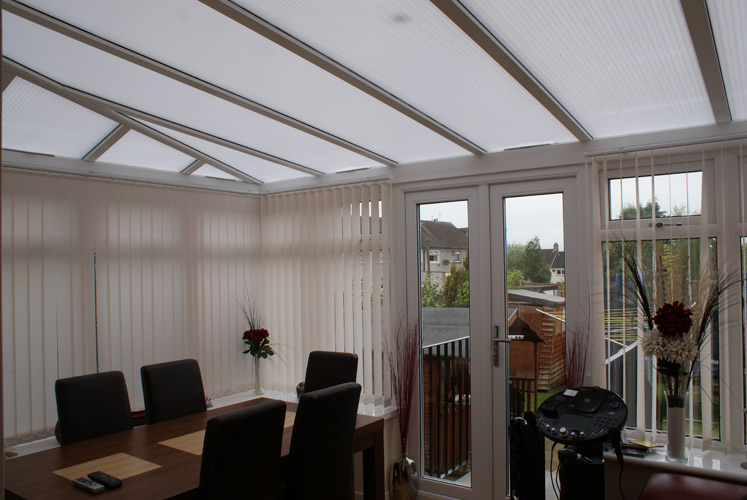 Inside View - Edwardian Conservatory Roof